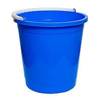 Ведро круглое пищевое 7 литров Синий