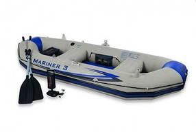 Надувная лодка Mariner 3 Set Intex 68378