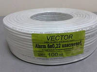 3806     Кабель VECTOR  6/0,2 без экрана