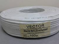 3807     Кабль VECTOR  8/0,2 в экране