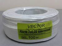 3802     Кабель VECTOR  2/0,2 без экрана