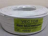 3804     Кабель VECTOR 4/0,2 без экрана