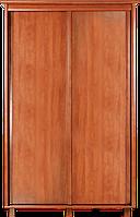 Шкаф-купе 220x60x160 см для одежды в спальню, гостинную, прихожую, двухдверный