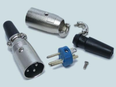 Штекер микрофонный на кабель