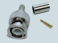 28141     Штекер BNC на кабель обжимной (RG-58)