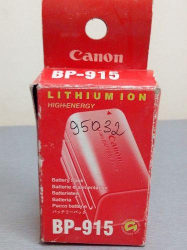 Аккумуляторная батарея Canon bp 915
