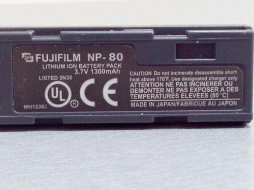 Аккумуляторная батарея FUGI  NP 80