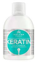 Шампунь c кератином и экстрактом молочного протеина KJMN KALLOS 1000мл