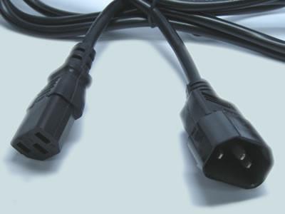 Удлинитель компьютерный, межблочный 1,8мм2 3х0,75мм2 прямой.