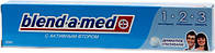 """Зубная паста """"BLEND-A-MED"""" 1-2-3- деликатное отбеливание 50 мл"""