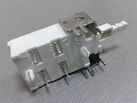 90023     Кнопка сетевая  білаTV8  120V~  8A/128A250V~