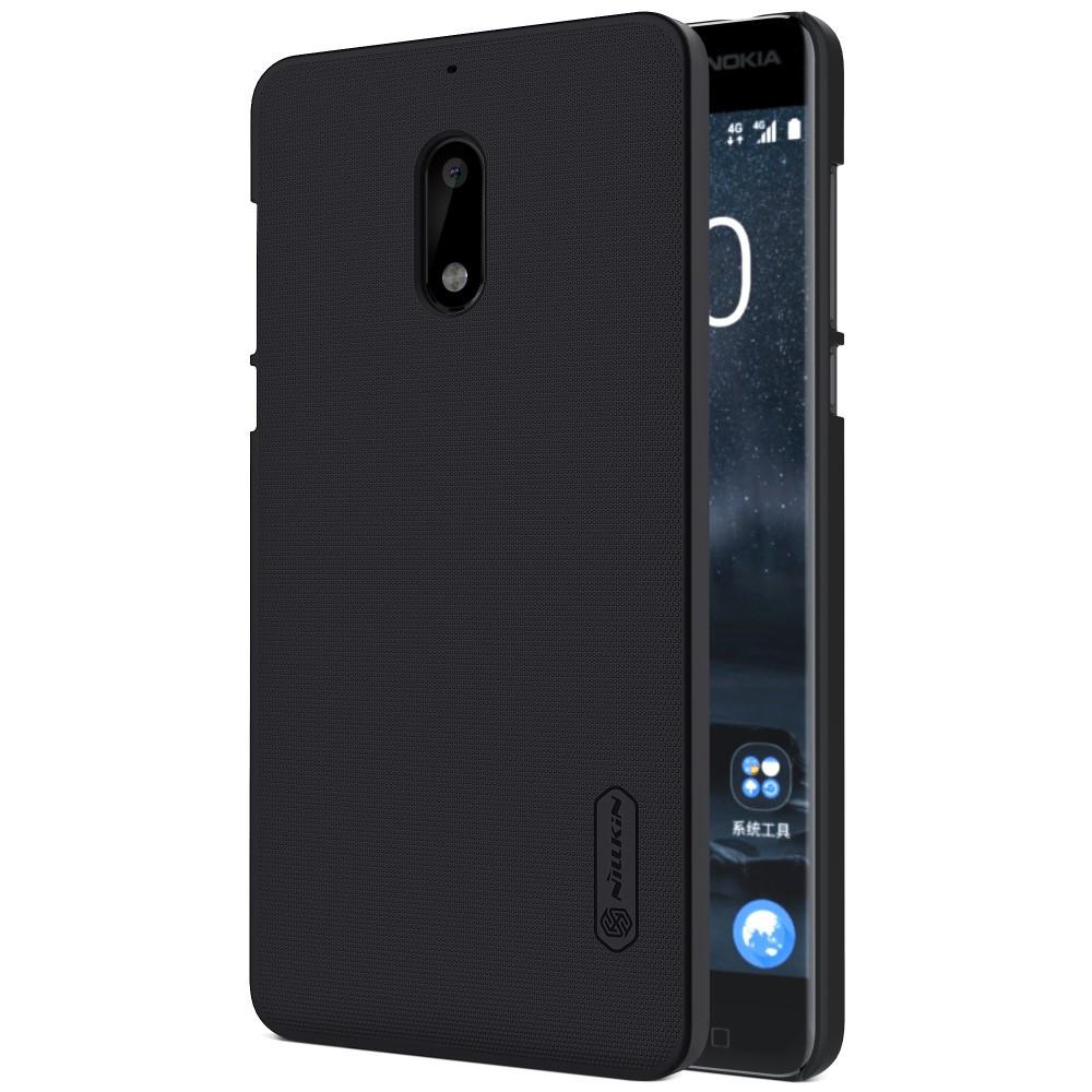 Чехол накладка Nillkin Super Frosted для Nokia 6 черный