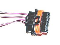 Разъем герметичный датчика массы расхода воздуха с проводами (пр-во КПКЗ)