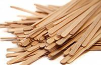 Мешалки деревянные для напитков (кофе, чая) (Бук) 140мм (1000 шт.)