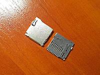 Коннектор MicroSD флеш карты памяти