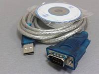 Шнур- USB- RS232   1,8M  з диском