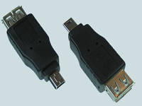 41171     Адаптер ''USB AF/mini USB 4pBM''