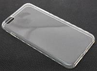 Силиконовый чехол для iPhone 6 Plus прозрачный с анатомическим хватом Germany