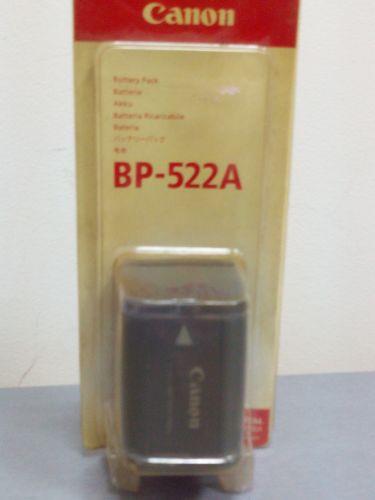 Аккумуляторная батарея Canon BP 522A