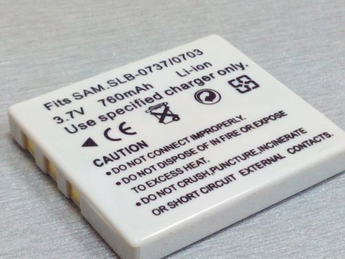 Аккумуляторная батарея SAMSUNG SLB 0737/0703