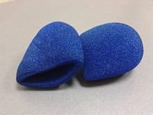 Поролоновая насадка на микрофон синяя