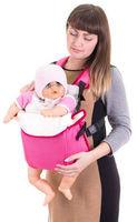 Рюкзак-кенгуру №6 Умка розовый