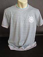 Мужские футболки в полоску с эмблемой., фото 1