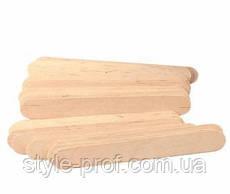 Шпатель деревянный, одноразовый 15х1,5 см, 100 шт.