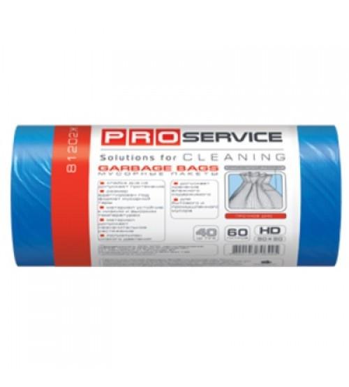 PRO Пакет для смiття п/е 60*80 син ХД 60л/20шт.(50шт/ящ)