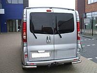 Защита задняя Opel Vivaro 2001+ /Renault Trafic /углы