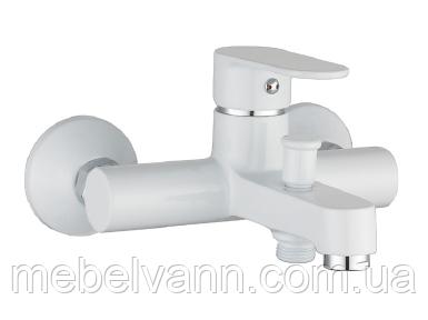 LESNA cмеситель для ванной, белый, IMPRESE 10070W