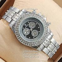 Наручные часы Rolex Brilliant  Silver/Black