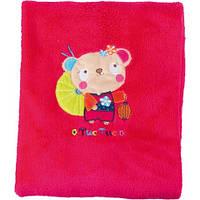 Плед розовый для девочки Tuc Tuc KIMONO 100х75