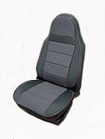 Чехлы на сидения универсальные - автоткань Pilot светло серый