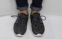 Кроссовки женские серые сетка Fashion, фото 1