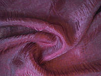 Тюль жатка бордо 6 м, фото 1