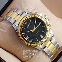 Наручные часы Rolex Quartz 022 Silver-gold/Black