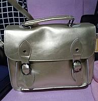 Стильная кожаная сумка портфель из натуральной кожи В10858