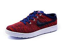 Кроссовки мужские Найк TENNIS CLASSIC текстиль, красные, р. 41 42 43 44 45