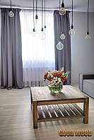 Стол журнальный деревянный W-1 (Ш700*В450*Г700)