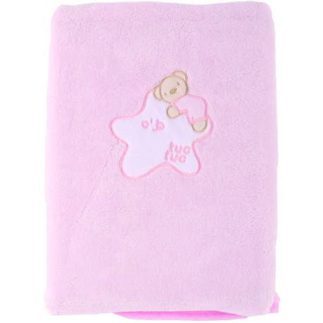 Плед детский розовый для девочки,Tuc Tuc LYE, 100х75