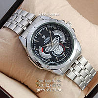 Наручные часы Rolex Quartz 003 Silver/Black