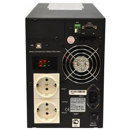 Источник бесперебойного питания Powercom VGS-1500, фото 2
