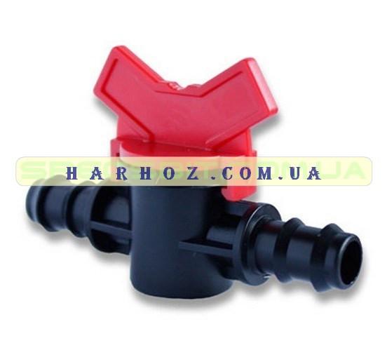 Кран 16 Presto № МV 0116 (Престо) проходной для капельной трубки
