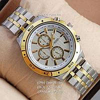 Наручные часы Rolex Quartz 024 Silvr-gold/Silver