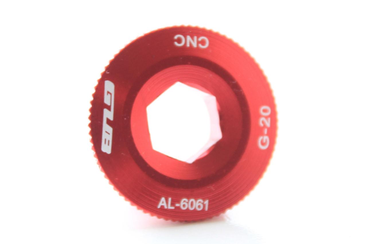 Болт GUB для зажима шатунов Shimaho Hollowtech, красный