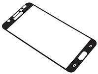 Защитное стекло на дисплей для Samsung J710 (J7-2016) Black Full Screen Glass