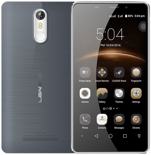 "Leagoo M8 Gray (black)  2/16 Gb, 5.7"", MT6580, 3G"