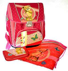 """Набор """"Мишка"""" ранец+пенал+сумка для обуви 1002887"""