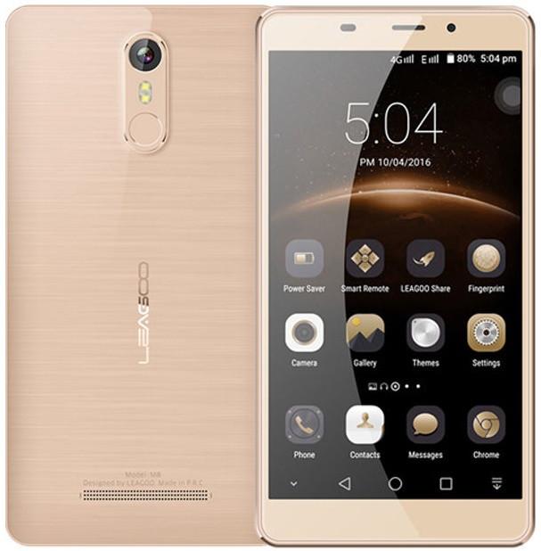 "Leagoo M8 Gold  2/16 Gb, 5.7"", MT6580, 3G"